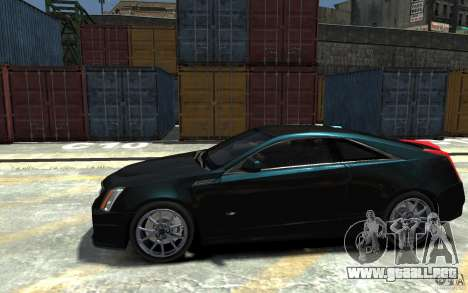 Cadillac CTS-V Coupe 2011 v.2.0 para GTA 4 left
