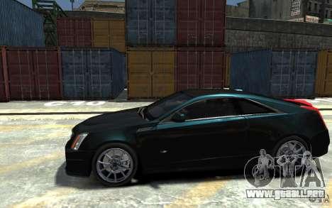 Cadillac CTS-V Coupe 2011 v.2.0 para GTA 4 left
