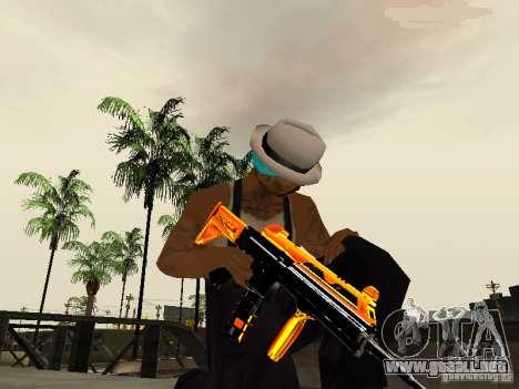 Black and Yellow weapons para GTA San Andreas tercera pantalla