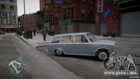 VAZ 2102 para GTA 4 Vista posterior izquierda