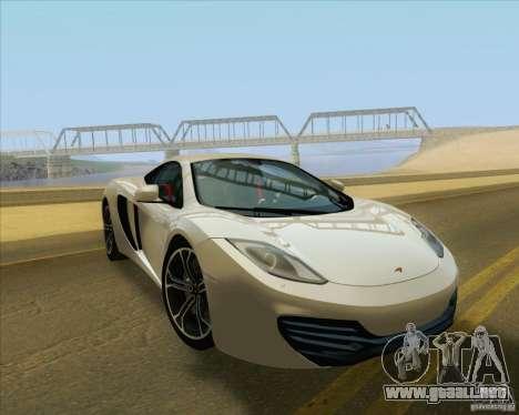 New Playable ENB Series para GTA San Andreas sucesivamente de pantalla