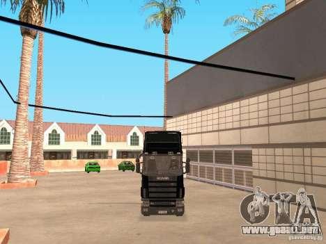 Scania 124L 420 para GTA San Andreas left