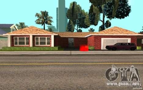 Nuevas texturas Inicio Millie para GTA San Andreas segunda pantalla