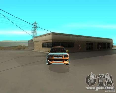 Subaru Impreza WRX Team Orange DRIFT SA-MP para la visión correcta GTA San Andreas