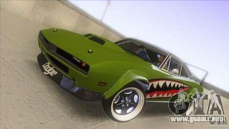 Dodge Charger RT SharkWide para vista lateral GTA San Andreas