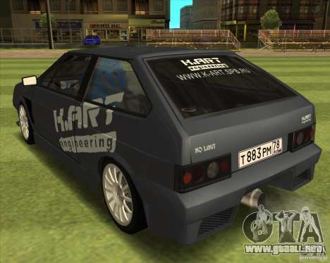 VAZ 2108 K-arte para GTA San Andreas left