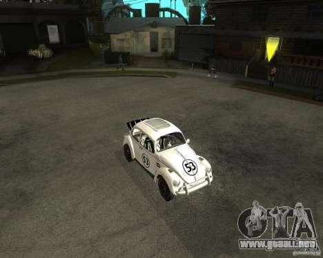 Volkswagen Beetle Herby para GTA San Andreas left