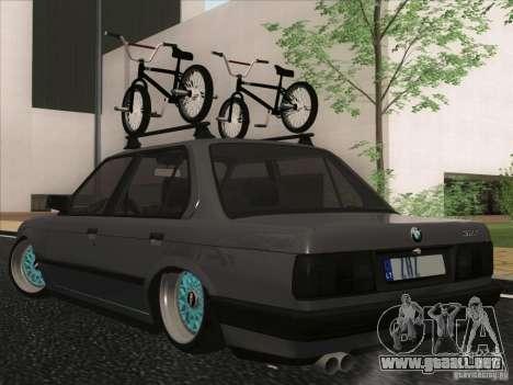 BMW E30 Rat para la visión correcta GTA San Andreas
