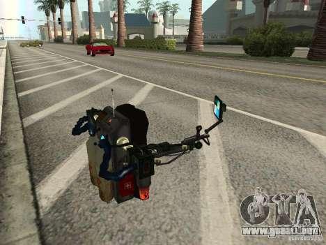 Un nuevo Jetpack para GTA San Andreas quinta pantalla