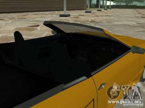 Elegía de tapas convertibles para la visión correcta GTA San Andreas