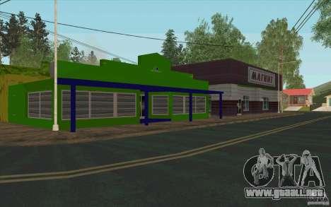 Una aldea nueva Dillimur para GTA San Andreas novena de pantalla