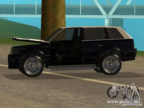 Huntley en GTA IV para GTA San Andreas vista hacia atrás