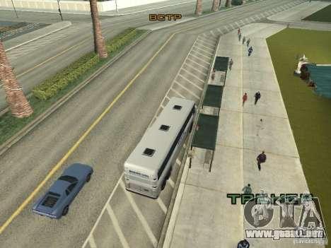 Línea de autobús en Las Venturas para GTA San Andreas séptima pantalla