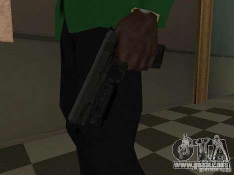 Colt 1911 para GTA San Andreas tercera pantalla