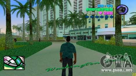 Radar cuadrado para GTA Vice City tercera pantalla