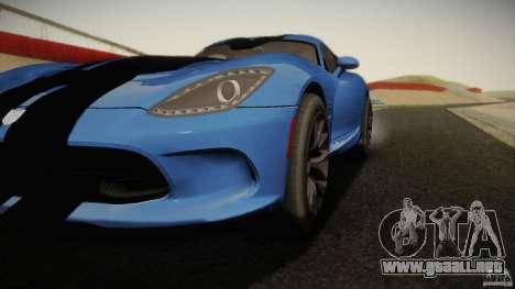Dodge Viper GTS 2013 para GTA San Andreas left