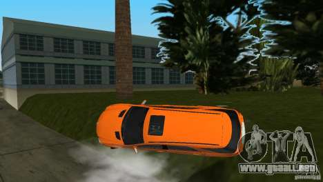 Mercedes-Benz ML 500 para GTA Vice City vista superior
