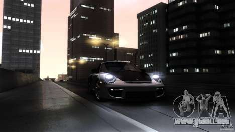 Porsche 911 GT2 RS 2012 para vista inferior GTA San Andreas
