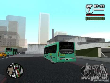 Metalpar 22 para GTA San Andreas left