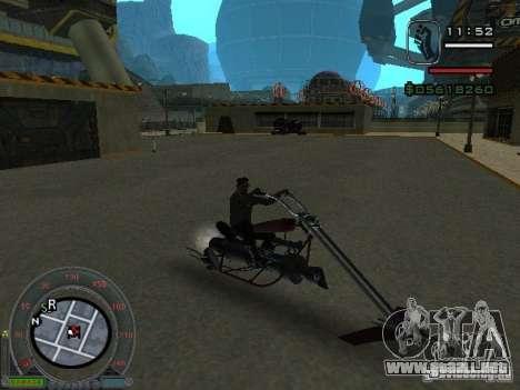 Moteros moto desde la ciudad de Alien para GTA San Andreas