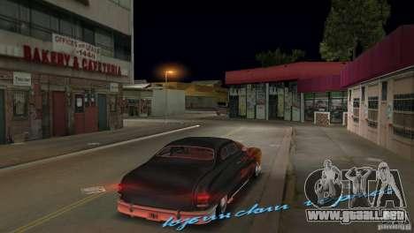 Cuban Hermes HD para GTA Vice City vista lateral izquierdo