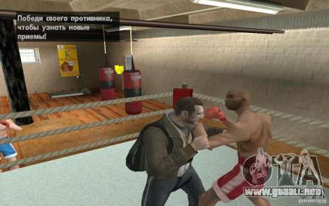 El sistema de combate de GTA IV V 3.0 para GTA San Andreas sexta pantalla