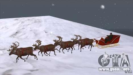 Tiene equipo de Papá Noel para GTA San Andreas