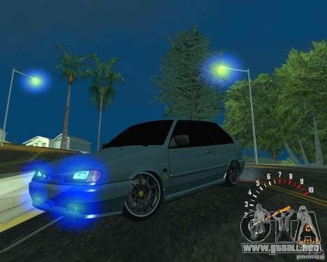 Ferarri 2113 VAZ para GTA San Andreas vista hacia atrás