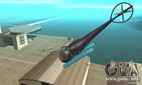 Dragonfly para vista lateral GTA San Andreas