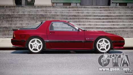 Mazda RX7 FC3S v2 FINAL para GTA 4 vista hacia atrás