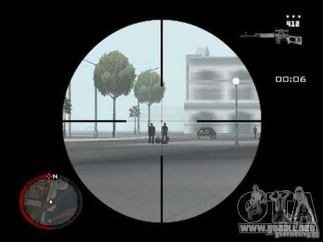 MASSKILL para GTA San Andreas quinta pantalla
