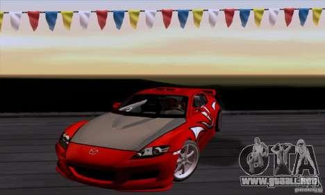 Mazda RX-8 Speed para GTA San Andreas