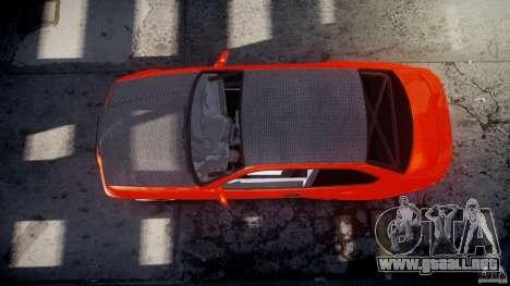 BMW E36 Alpina B8 para GTA 4 vista desde abajo