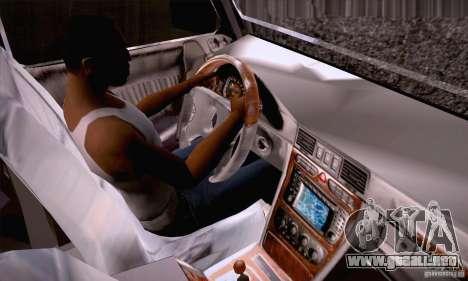 Mercedes-Benz Brabus G500 Dub Edition para vista lateral GTA San Andreas