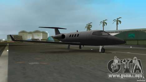 Shamal Plane para GTA Vice City left