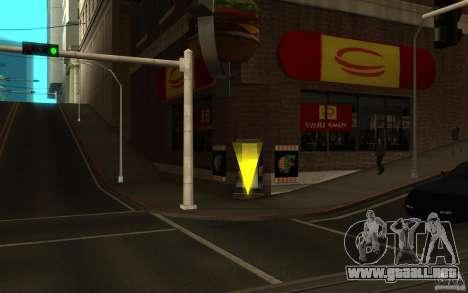 Pumper Nic Mod para GTA San Andreas segunda pantalla