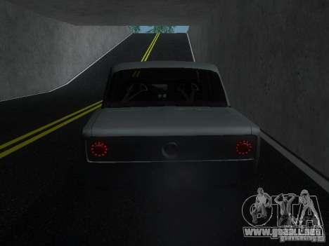 VAZ 2106 Drag Racing para la visión correcta GTA San Andreas