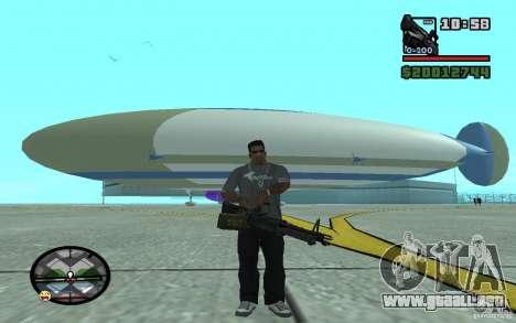 Dirigible grande para GTA San Andreas