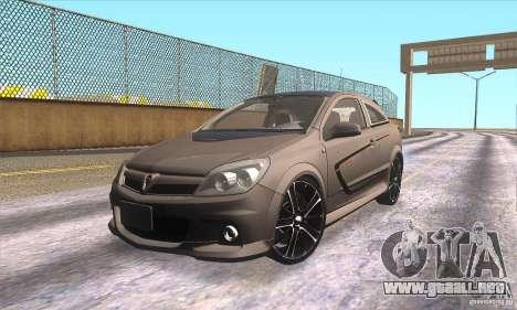 Opel Astra GTC DIM v1.0 para GTA San Andreas interior