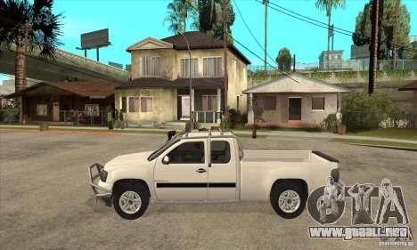 GMC Sierra para GTA San Andreas left
