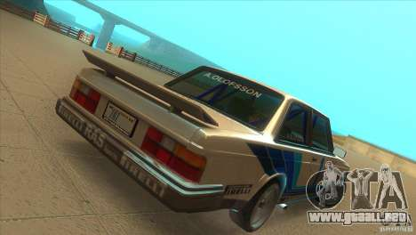 Volvo 240 Turbo Group A para la visión correcta GTA San Andreas
