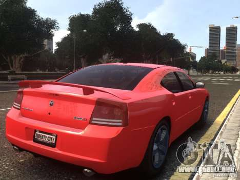Dodge Charger SRT8 2006 para GTA 4 left