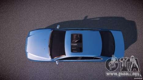 BMW 530I E39 e63 white wheels para GTA 4 visión correcta