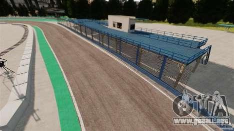 Ebisu Circuit para GTA 4 segundos de pantalla
