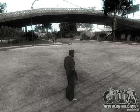 GTA SA - Black and White para GTA San Andreas