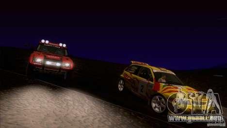 Seat Ibiza Rally para las ruedas de GTA San Andreas