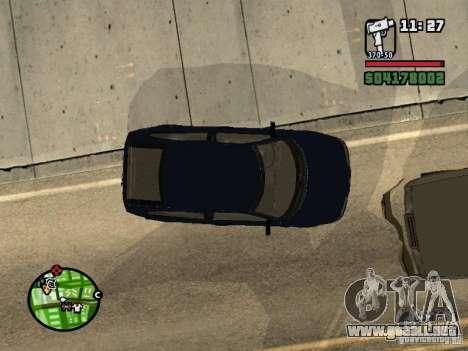 VAZ 21124 Coupe para GTA San Andreas vista posterior izquierda