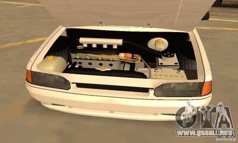 Ваз Dag 2114 estilo para visión interna GTA San Andreas
