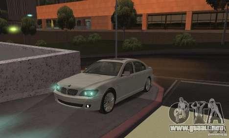 Lámparas de color neón para GTA San Andreas segunda pantalla