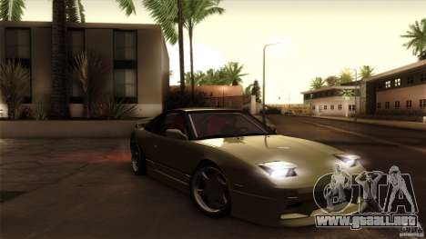 Nissan 240SX S13 Drift Alliance para visión interna GTA San Andreas